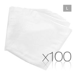 Set of 100 Large Food Sealer Bags