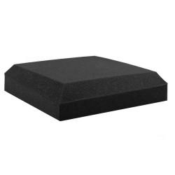 Set of 40 Flat Panel Acoustic Foam - Black