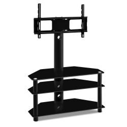 Artiss 3 Tier Floor TV Stand with Bracket Shelf Mount