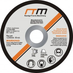 """125mm 5"""" Cutting Disc Wheel for Angle Grinder x50"""