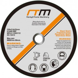 """230mm 9"""" Cutting Disc Wheel for Angle Grinder x100"""