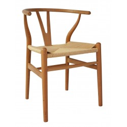 Wishbone Chair Natural Set Of 2
