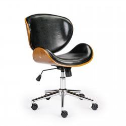Wooden & PU Leather Office Chair Arraya Task Chair