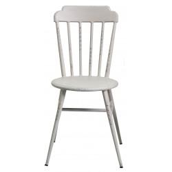 Aluminium Windsor Dinning Chair Retro White Set of 2