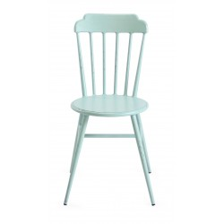 Aluminium Windsor Dinning Chair Retro Blue Set of 2