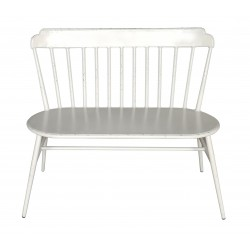 Aluminium Windsor Love Chair