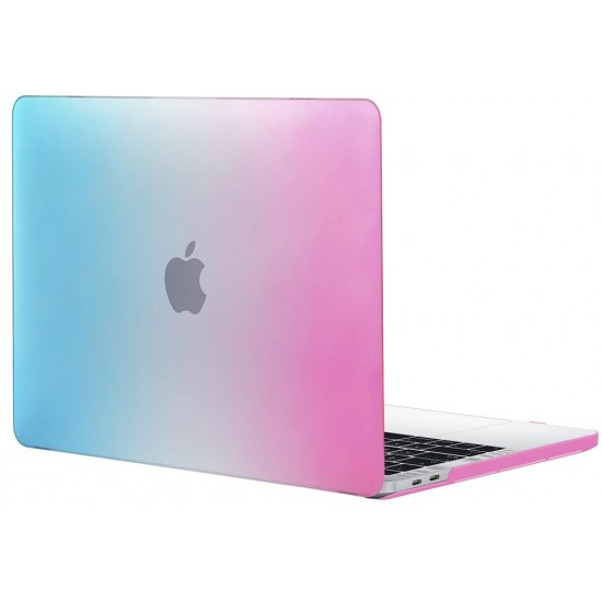 Case Shell + Keyboard cover MacBook Pro retina display - Rainbow