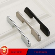 Zinc Kitchen Cabinet Handles Drawer Bar Handle Pull 128mm 224mm 192mm 320mm