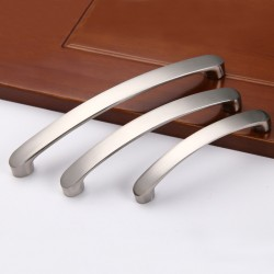 Brushed Nickel Kitchen Door Cabinet Drawer Handle Pulls 96MM 128MM 160MM