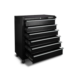Giantz 6 Drawer Mechanic Tool Box Storage - Black