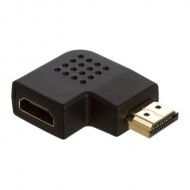 HDMI Port Saver Male to Female 90 Degree Vertical Flat Left For Cable HDMI