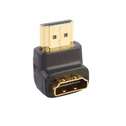 90 Degree Right Angle HDMI Male to Female Plug Play joiner Adapter Connector