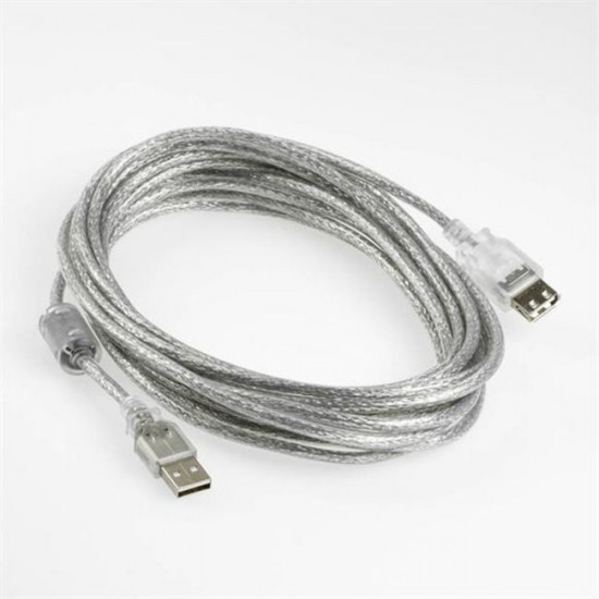 5M USB 2.0 Cable USB Data Extension Male to Female Cable