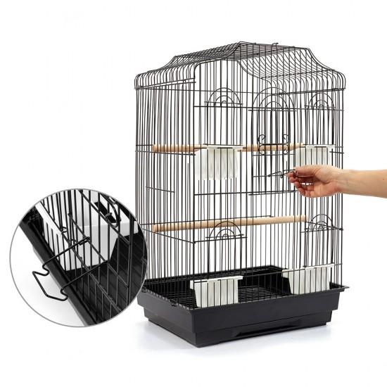 i.Pet Medium Bird Cage - Black