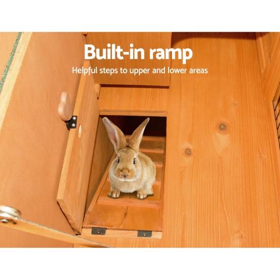 i.Pet 100cm Tall Wooden Pet Coop