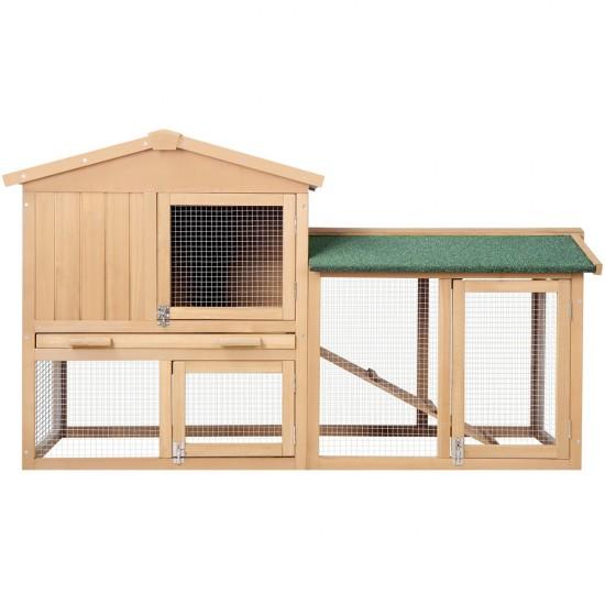 i.Pet 138cm Wide Wooden Pet Coop