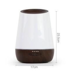 4 in 1 Ultrasonic Aroma Diffuser 500ml - Dark Wood