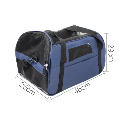 i.Pet Extra Large Portable Pet Carrier - Blue
