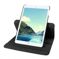 Black color 360 Rotate Leather Case Cover For Apple iPad 2 3 4  air pro