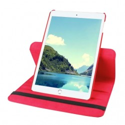 Red color 360 Rotate Leather Case Cover For Apple iPad 2 3 4  air pro