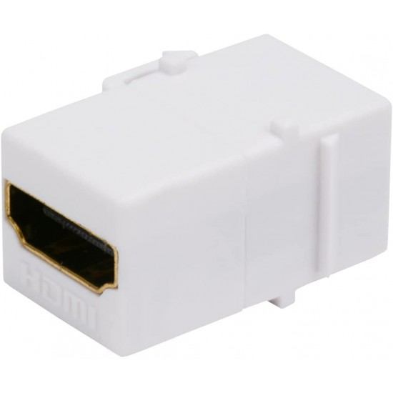 Keystone HDMI Jack HDMI Insert Connector Female to Female Coupler Adapter