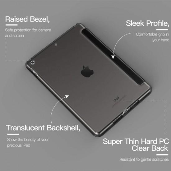 IPad 10.2 2019 7th  Slim Smart Case Cover black