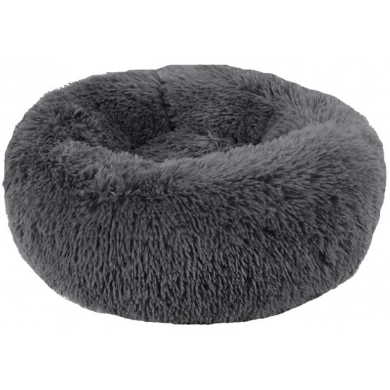 Soft Dog Bed Round Washable Plush Pet Kennel Cat Bed Mat Sofa Large 70cm