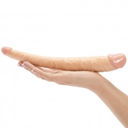 37cm Realistic Double-Ended Dildo Adult Sex Toy Lesbian Penis