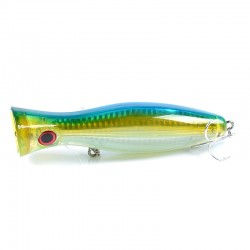 8x Popper Crank 12.5cm Fishing Lure Lures Surface Tackle Fresh Saltwater