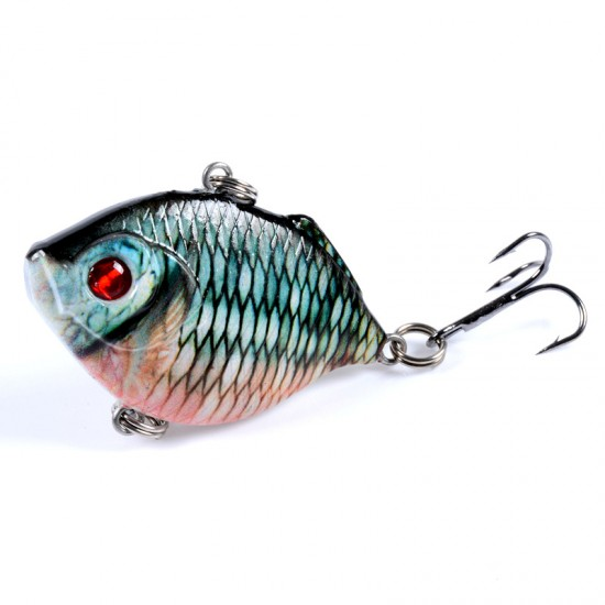 8x Popper Poppers 4.5cm Fishing Lure Lures Surface Tackle Fresh Saltwater