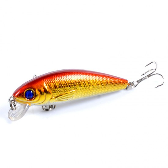 10x Popper Poppers 7.2cm Fishing Lure Lures Surface Tackle Fresh Saltwater