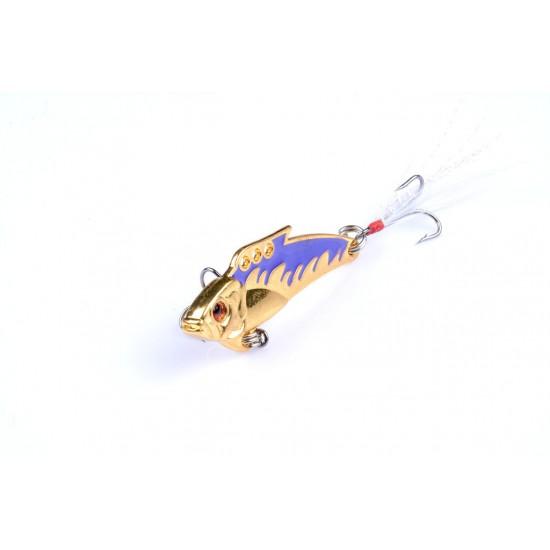 4X 8g Fishing Switchblade Blade VIBE VIB Metal Lures 50mm