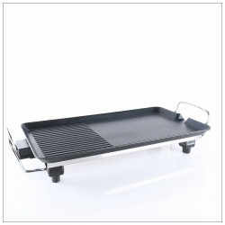 Teppanyaki Electric BBQ Grill Hot Plate Non Stick 2000W KitchenPro Hot Plate