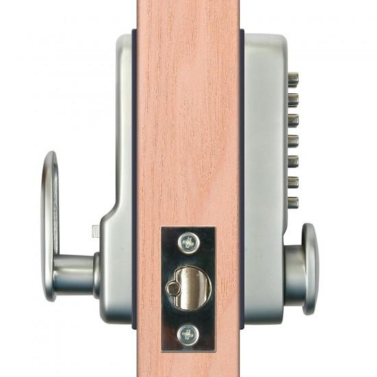 Weatherproof Mechanical Keyless Password Door Security Lock for Home Office