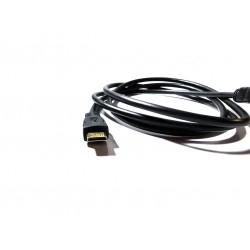 1.5M Mini HDMI to HDMI TV Adapter Cable Supports Ethernet 3D