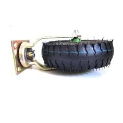 10Inch Swivel Castor Caster Pneumatic Tyres Tyre Wheels Trolley Cart Wheelbarrow