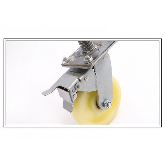 Industrial 150kg 6inch Heavy Duty Scaffold Scaffolding Adjustable Caster Wheel