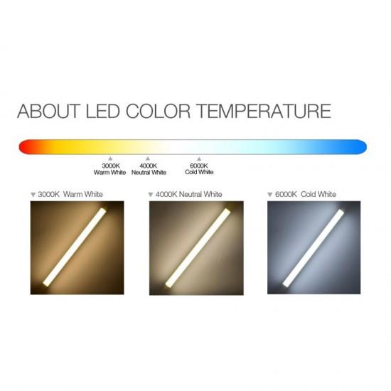 1.2M 18W 6500K Cool White Ledtube LED Tube Fluorescent Bulb Frosted Cover