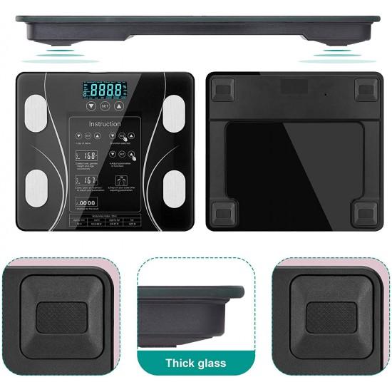 LCD Scales Body Weight Bathroom Bath room Body Fat Gym Fitness Scale BMI BMR