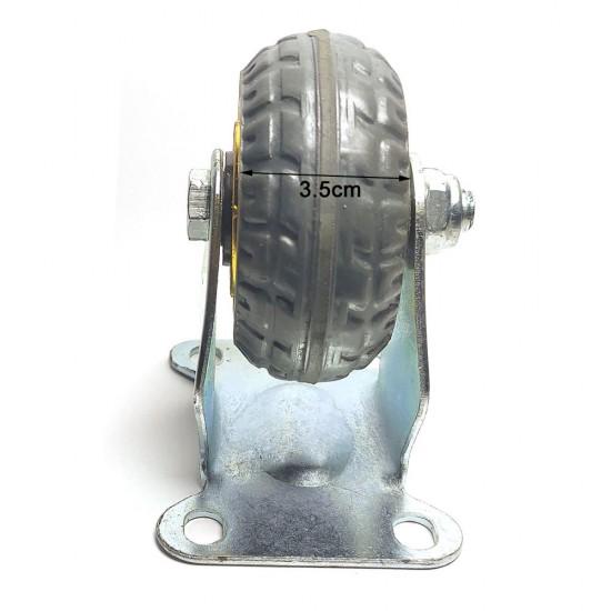 """4x 3"""" Heavy Duty Industrial Swivel Brake Caster Wheel Wheels Castor 500KG Trolley"""