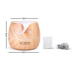 Aroma Diffuser Air Humidifier 400ml Light Wood Grain