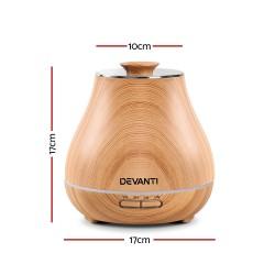Aroma Diffuser Air Humidifier Light Wood Grain 400ml