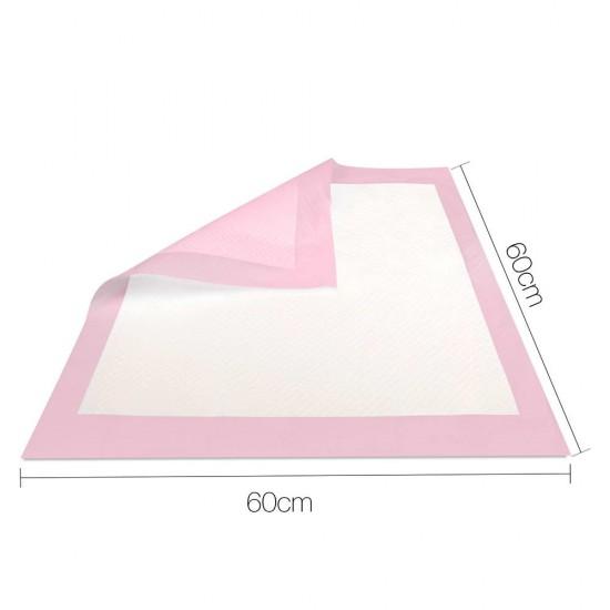 200 Piece Indoor Pet Toilet Training Pads - Pink