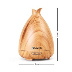 Aroma Diffuser Air Humidifier Light Wood Grain 120ml