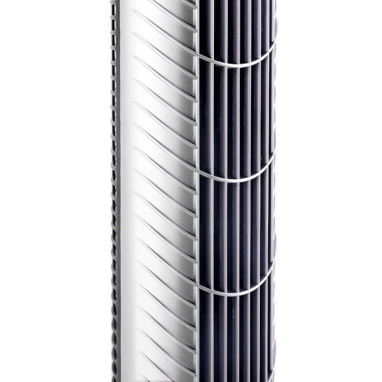Portable Cross Flow Tower Fan - Silver