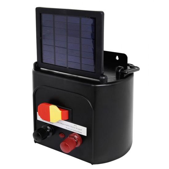 Giantz 3km Solar Electric Fence Energiser Charger