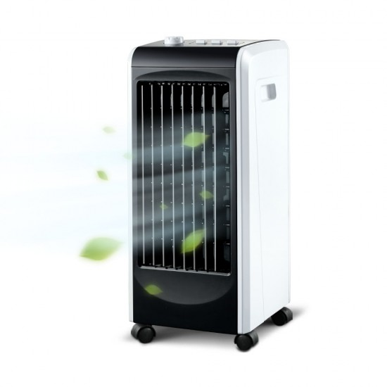Evaporative Air Cooler and Humidifier - Black