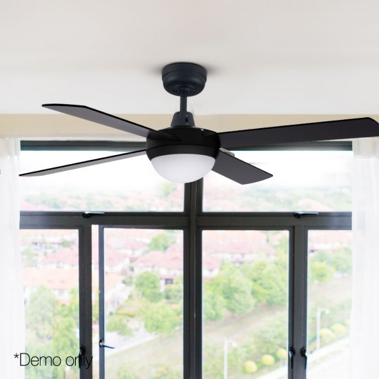 "52"" Ceiling Fan - Black"