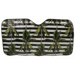 Car Sunshade Stripe Palms 140x 72cm