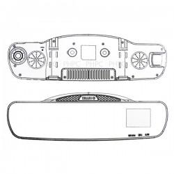 Ritek Full HD 1080 CRMT 01 Rearview Mirror + Driving Recorder